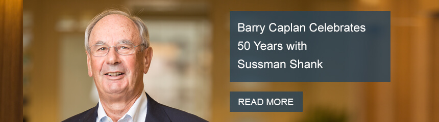 Barry Caplan Celebrates 50 Years with Sussman Shank