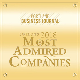 Portland Business Journal: Oregon's 2018 Most Admired Companies